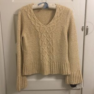 Anthropologie Sleeping on Snow sweater EUC size L